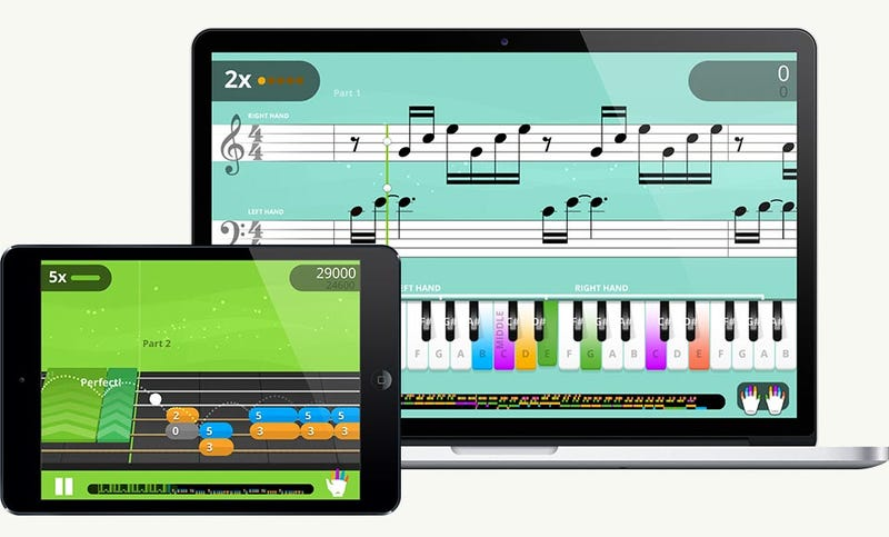 Illustration for article titled Can a Video Game Teach Your Kid to Play an Instrument?