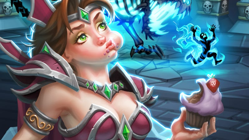 Illustration for article titled After Frozen Throne, Hearthstone Matches Are Taking Longer