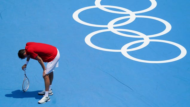 Tennis Star Feared Extreme Heat at the Tokyo Olympics Could Kill Him