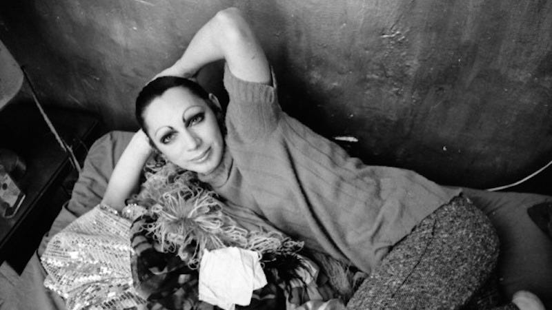Illustration for article titled Holly Woodlawn, Transgender Legend and Warhol Muse, Dies at Age 69