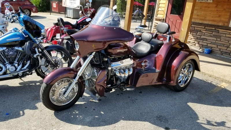 I am usually uninterested in motorcycles but this is not your everyday motorcycle.