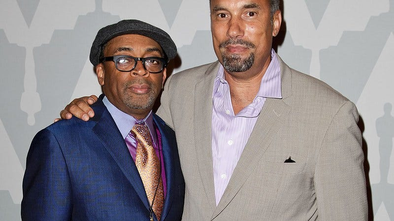 Spike Lee and Rodney King star Roger Guenveur Smith (Photo: Tibrina Hobson/Getty Images)