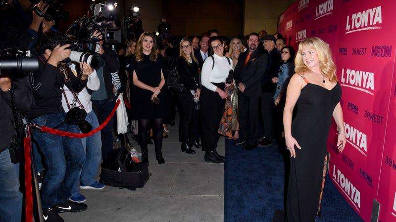 Tonya Harding attends the Los Angeles premiere of 'I, Tonya' in 2017