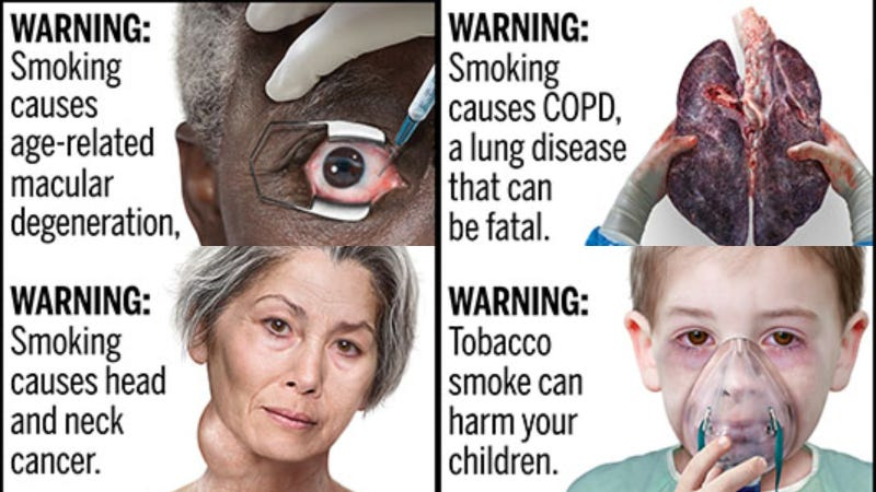 The FDA Is Previewing Some Grisly New Cigarette Warnings