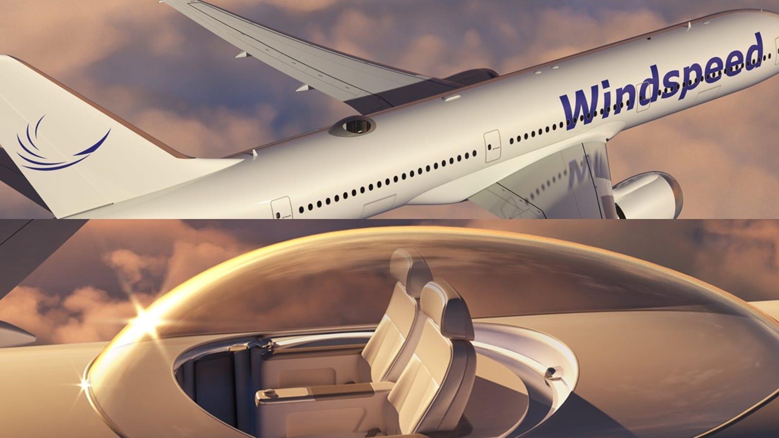 Los vuelos largos van a ser menos aburridos cuando puedas pagar por ir encima del avión
