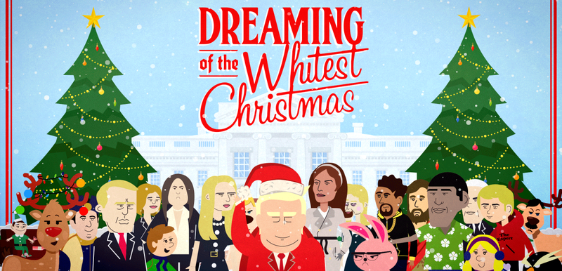 """Illustration for article titled """"Dreaming of the Whitest Christmas"""" -- A FUSION Special"""