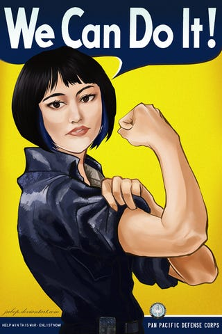 Illustration for article titled A Feminist Defense of Pacific Rim
