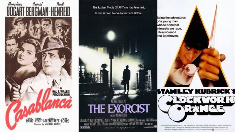 Illustration for article titled El exorcista, La naranja mecánica y Casablanca: 12 de los mejores carteles diseñados por el maestro Bill Gold
