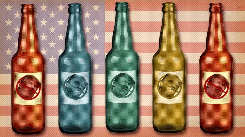 Illustration for article titled Craft beer has become a potent protest symbol in the age of Trump