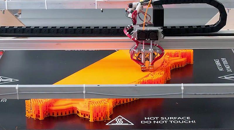 Illustration for article titled Esta impresora 3D es lo bastante grande como para imprimir muebles