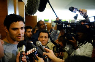 Illustration for article titled Mark Sanchez Overpraise Poised To Annoy The Hell Out Of Us