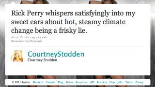 Illustration for article titled What Would It Look Like If Courtney Stodden Tweeted The News?