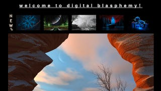 Illustration for article titled Most Popular Wallpaper Site: Digital Blasphemy