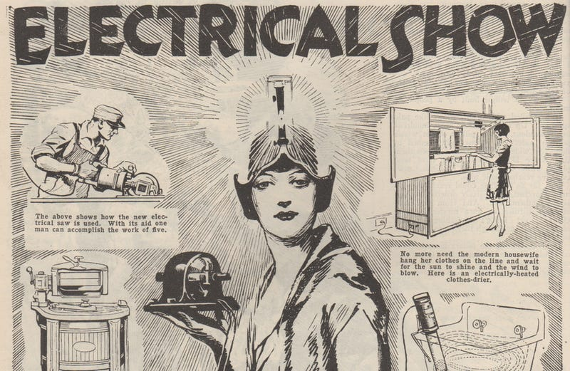 Illustration for article titled 17 High-Tech Gizmos From 1927's Version of CES