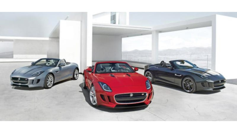 Illustration for article titled Jaguar F-Type: This Is Definitely It