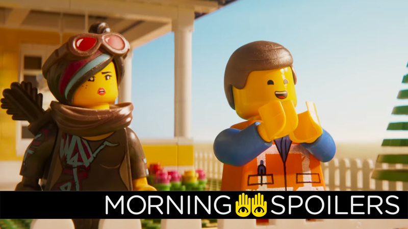 Emmet will have a very intriguing, vest-clad foil in The Lego Movie 2.