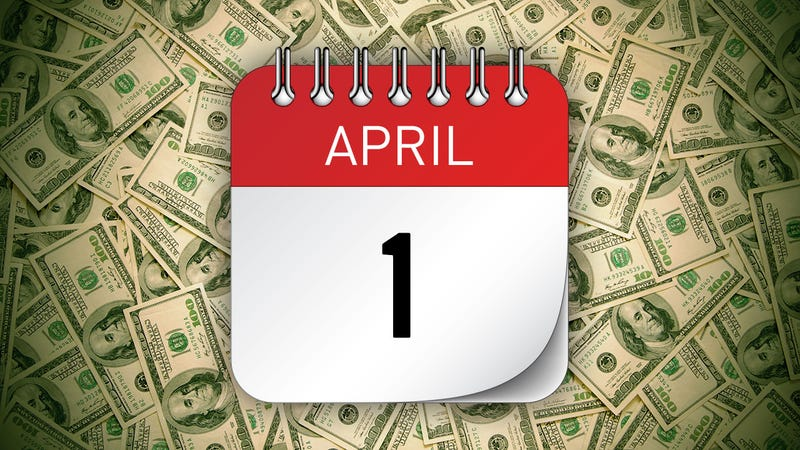Illustration for article titled The Financial Moves You Should Make in April
