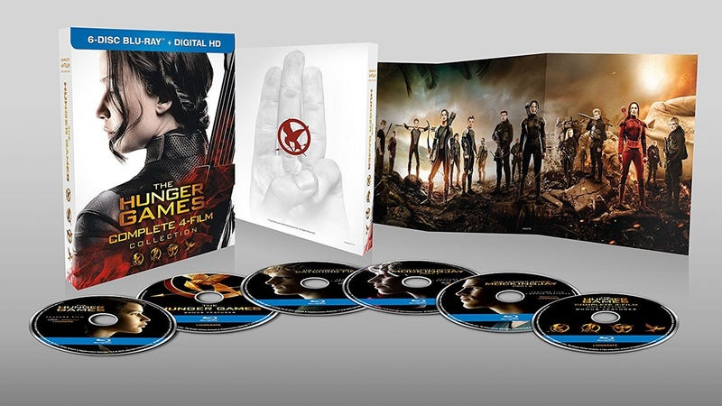 The Hunger Games 4-Film Collection, $25