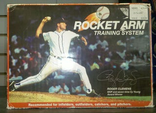 Illustration for article titled All Of Roger Clemens' Physical Gifts Can Be Purchased In This Mystery Discount Box
