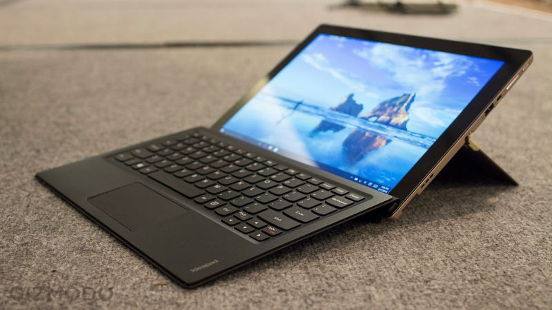 lenovo 39 s surface pro alternative looks like one sweet tablet. Black Bedroom Furniture Sets. Home Design Ideas
