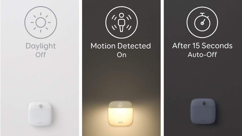 3-Pack Eufy Lumi Second Generation Night Lights | $13 | Amazon