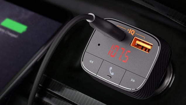 Add Wireless Audio to Any Car With Anker s $13 Bluetooth FM Transmitter [Exclusive]