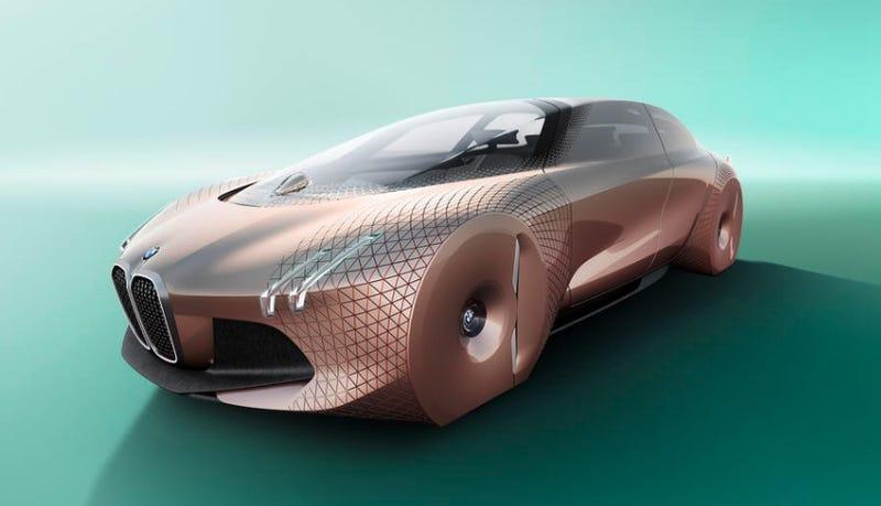 Imagen: BMW Next 100 vía CNET.