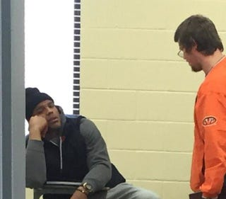 Illustration for article titled Cam Newton Goes Back To School, Appears To Remember Why He Left