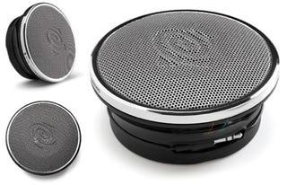 Illustration for article titled Altec Lansing Sends Ultra Portable Speakers Into Orbit