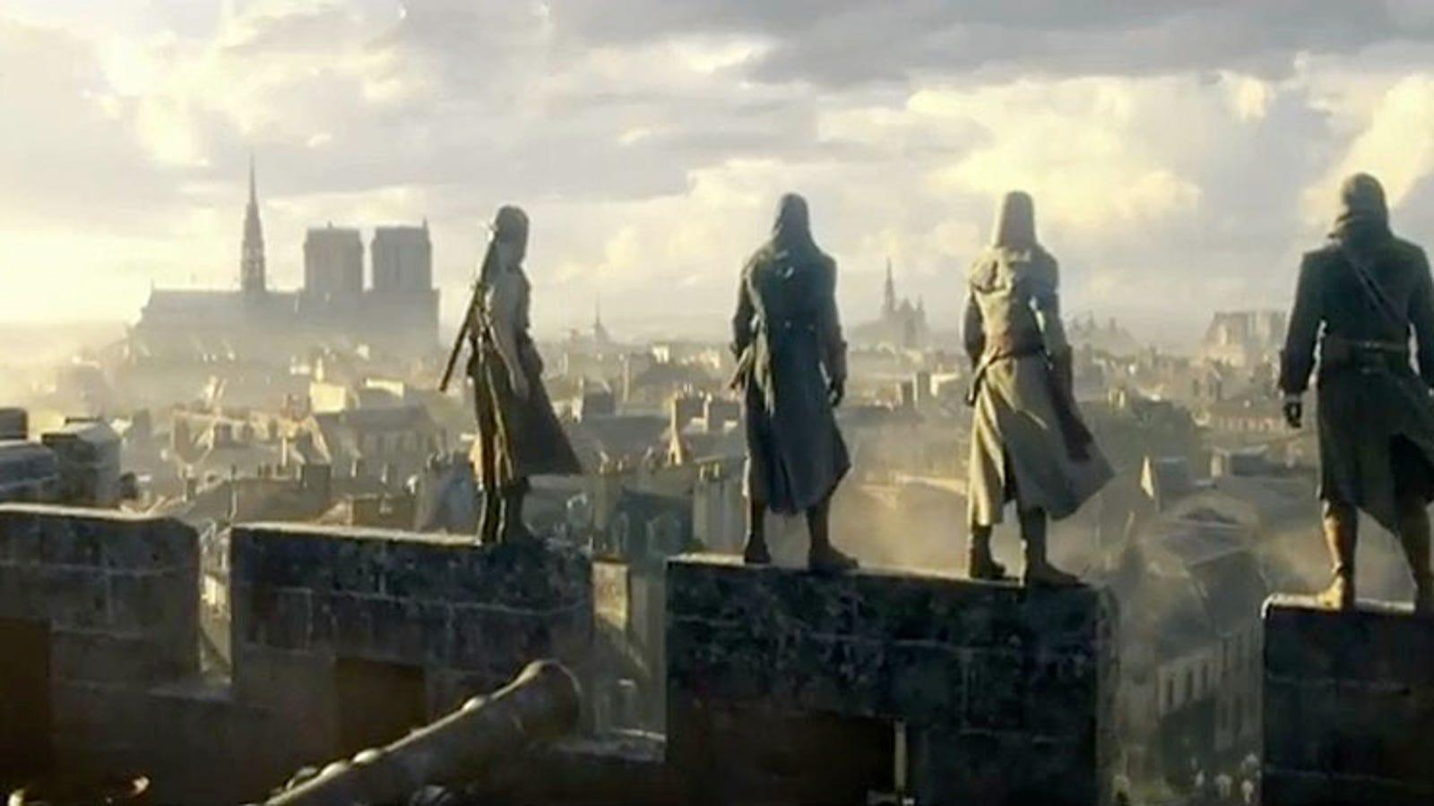 Assassin's Creed Unity: este sí es un juego de nueva generación