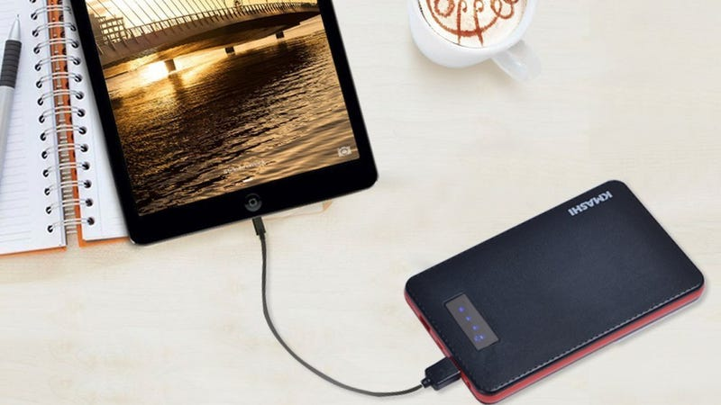Kmashi Battery Packs: 10,000mAH, $9 with code LHISM4IX | 15,000mAh, $13 with code ZWUTH7CQ | 20,000mAh With Quick Charge 2.0, $20 with code 8KZNDJ7M