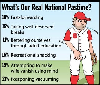 Illustration for article titled What's Our Real National Pastime?