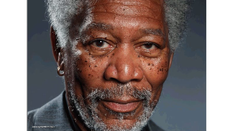 The Insane Morgan Freeman iPad Painting: An Investigation in