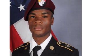 U.S. Army Sgt. La David Johnson (Local 10 screenshot)