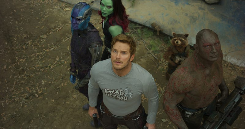 Illustration for article titled He visto Guardians of the Galaxy Vol. 2, una película que se arriesga a hacer algo diferente y termina siendo genial