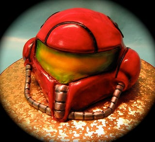 Illustration for article titled Metroid Baked Goods Look Awesome, Tasty