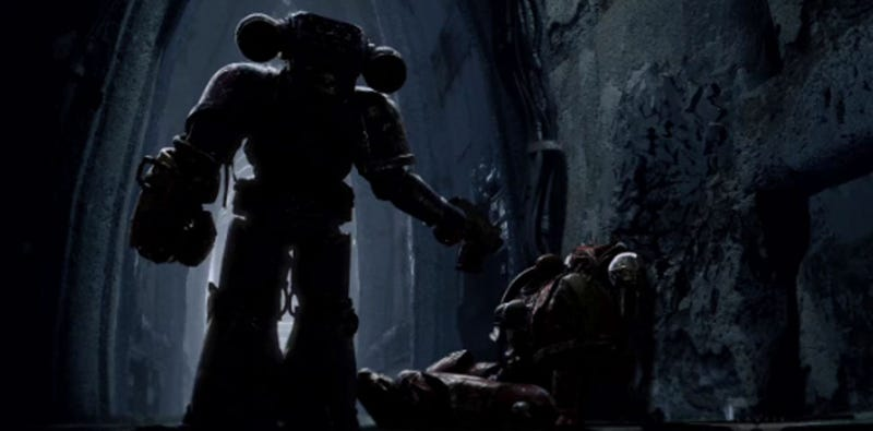 Illustration for article titled This Space Marine Footage Feels Like A Punch In The Face [Update]