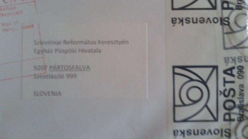 Illustration for article titled A Magyar Postának gőze sincs, merre van Szlovénia
