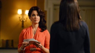 Bellamy Young as Mellie Grant in ScandalABC