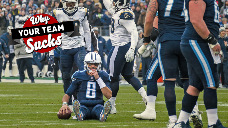 Illustration for article titled Why Your Team Sucks 2018: Tennessee Titans
