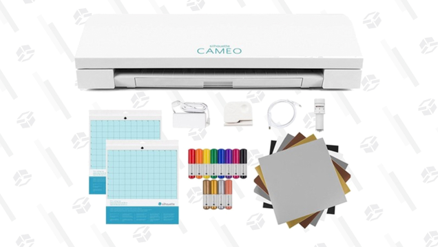 Silhouette Cameo 3 Craft Bundle   $190   Woot