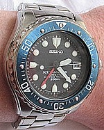 "Illustration for article titled Seiko Kinetic Scubamaster ""Stingray"" Reviewed (Verdict: Hotness)"