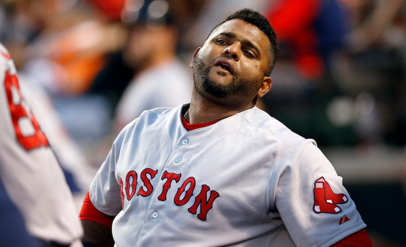 Illustration for article titled Pablo Sandoval Gets Dizzy And Tired Running The Bases