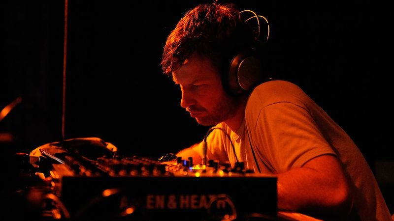 Aphex Twin at Coachella in 2008 (Photo: Getty Images, Charley Gallay)