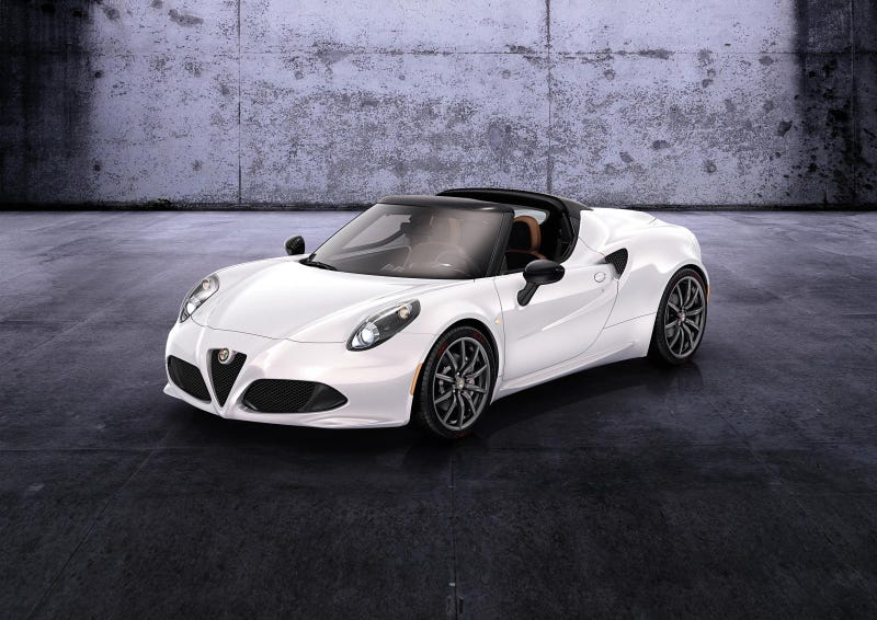 Illustration for article titled Alfa Romeo 4C Spider - This Is It