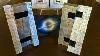 Illustration for article titled These Adorable Interstellar Robot Figures Are Made Out Of Wood