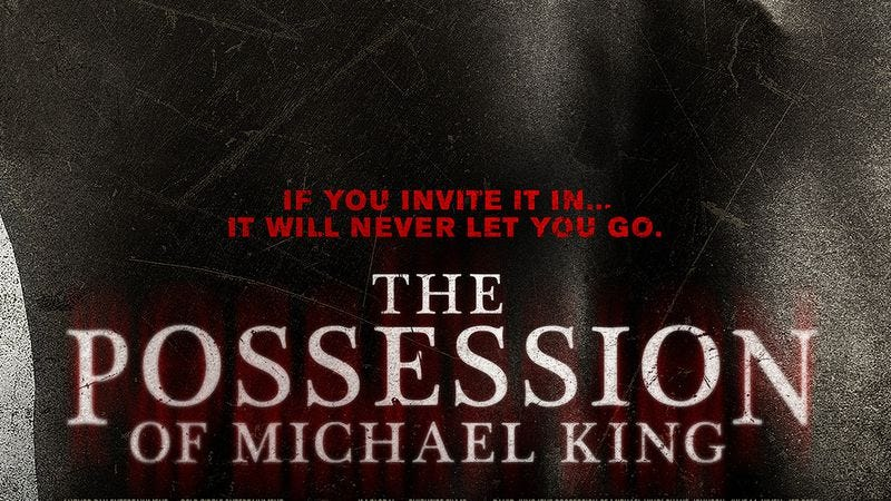 Illustration for article titled Chicago, see The Possession Of Michael King early and for free