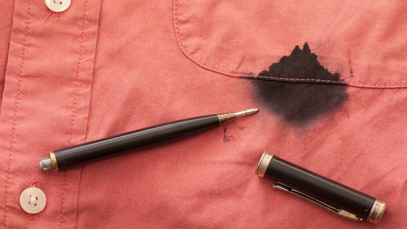 Illustration for article titled What's the Ink in a Standard Rollerball Pen Made Of?