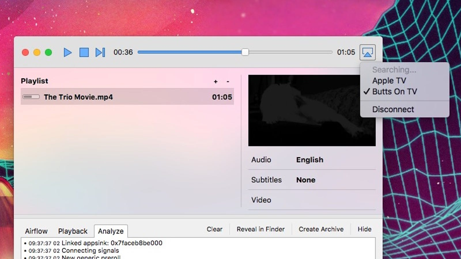Airflow Sends Just About Any Video to Chromecast or Apple TV
