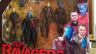 Illustration for article titled Seth Green Made Guardians Of The Galaxy Action Figures for James Gunn
